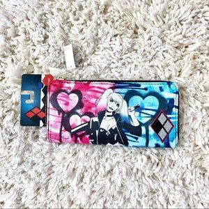 Handbags - Rebel Heart Harley Quinn wallet